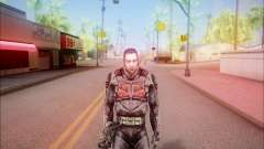 Zombie miembro considera de S. T. A. L. K. E. R para GTA San Andreas