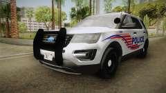Ford Explorer 2016 Police para GTA San Andreas