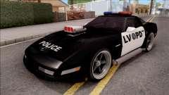 Chevrolet Corvette C4 Police LVPD 1996 v2 para GTA San Andreas
