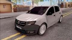 Dacia Sandero 2013 para GTA San Andreas