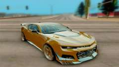 Chevrolet Camaro ZL1 2018 para GTA San Andreas