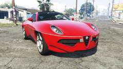 Alfa Romeo Disco Volante 2013 [add-on] para GTA 5