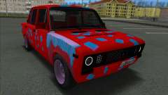 VAZ 2106 Shaherizada 2.3 GVR SA:MP para GTA San Andreas