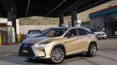 Lexus RX450H F-Sport Final para GTA 5