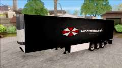 Trailer Biohazard Umbrella Corp. para GTA San Andreas