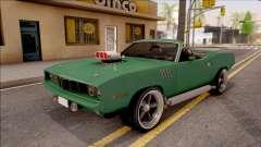 Plymouth Hemi Cuda 426 Cabrio 1971 para GTA San Andreas