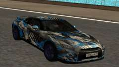Nissan GTR 2015 Bulkin Edition 1.1 para GTA San Andreas