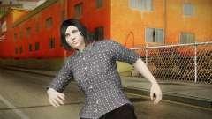GTA Online: SmugglerRun Female Skin para GTA San Andreas