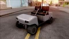 Roofless Civilian Caddy para GTA San Andreas