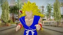 Goku Original DB Gi Blue v5 para GTA San Andreas