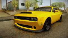 Dodge Challenger 2017 Demon para GTA San Andreas