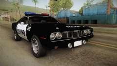 Plymouth Hemi Cuda 426 Police LVPD 1971 para GTA San Andreas