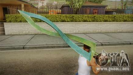 Hyrule Warriors - Fierce Deity Sword para GTA San Andreas