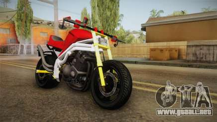 Honda CBR 1100CC Street Fighter Cipher para GTA San Andreas