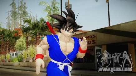 Goku Original DB Gi Blue v1 para GTA San Andreas