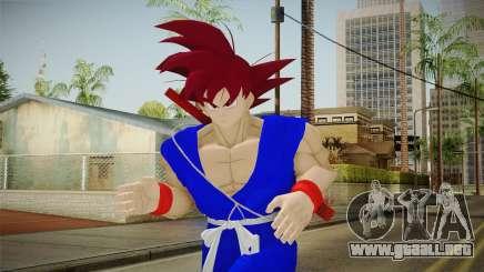 Goku Original DB Gi Blue v2 para GTA San Andreas