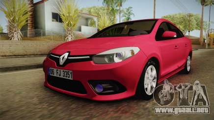 Renault Fluence Touch para GTA San Andreas