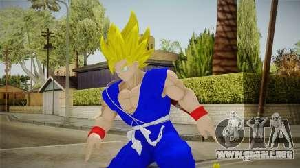Goku Original DB Gi Blue v4 para GTA San Andreas