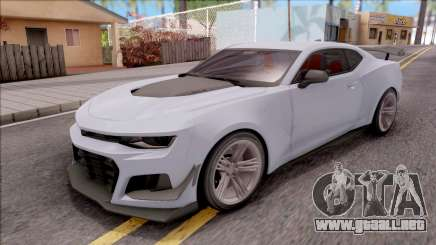 Chevrolet Camaro ZL1 1LE 2018 para GTA San Andreas