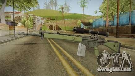 CS-GO - SG1 Sniper Rifle para GTA San Andreas