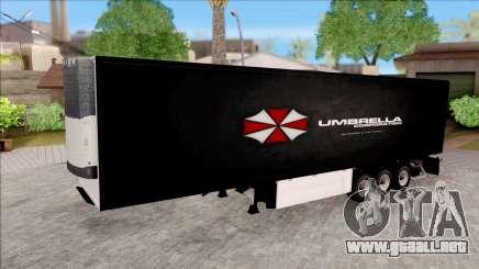 Trailer Biohazard Umbrella Corp. para GTA San Andreas