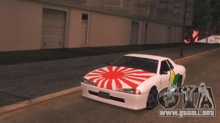 New Elegy PaintJob JDM para GTA San Andreas