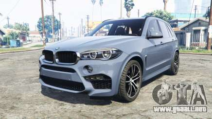 BMW X5 M (F85) 2016 [replace] para GTA 5
