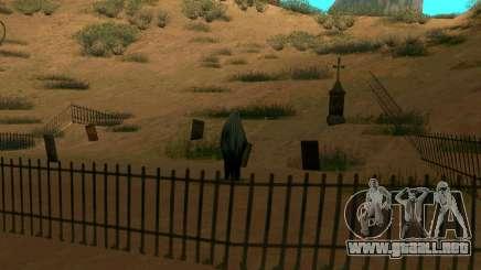 Fantasma en el pueblo de el Castillo del Diablo para GTA San Andreas