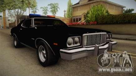 Ford Gran Torino Police LVPD 1975 para GTA San Andreas