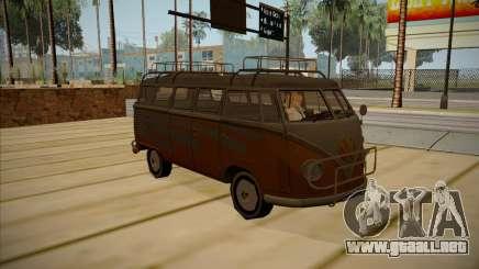 Volkswagen Samba BUS 1959 para GTA San Andreas