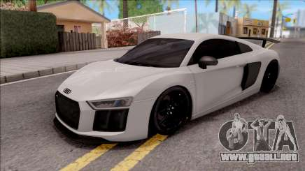 Audi R8 V10 Vorsteiner 2017 para GTA San Andreas