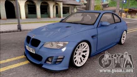BMW M3 E92 Hamann Tuning para GTA San Andreas