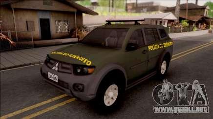 Mitsubishi Pajero Army Police of Brazil para GTA San Andreas