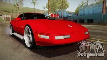 Chevrolet Corvette C4 1994 para GTA San Andreas