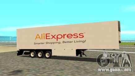 Remolque Aliexpress para GTA San Andreas