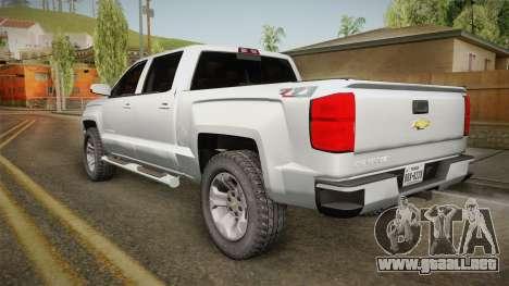 Chevrolet Cheyenne LT 2016 para GTA San Andreas left