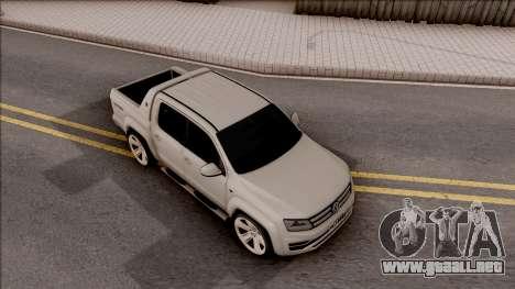 Volkswagen Amarok 4Motion 2017 para la visión correcta GTA San Andreas