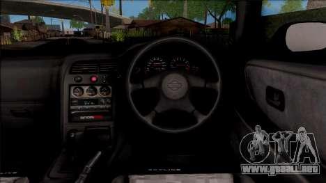 Nissan Skyline R33 para visión interna GTA San Andreas