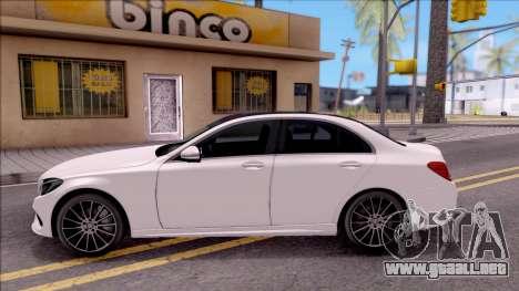 Mercedes-Benz C250 AMG Line para GTA San Andreas left