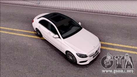 Mercedes-Benz C250 AMG Line para la visión correcta GTA San Andreas