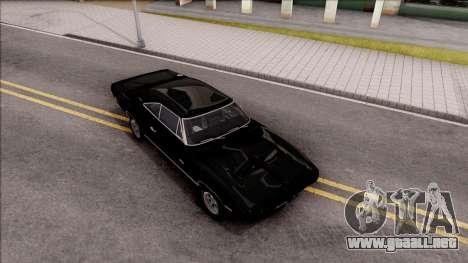 Dodge Charger RT 1970 para la visión correcta GTA San Andreas