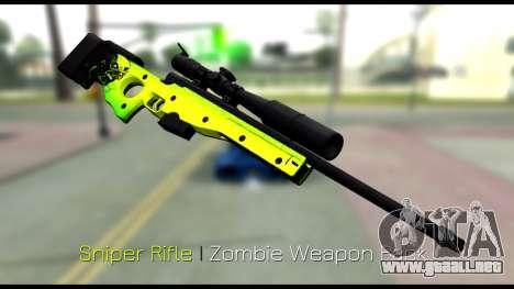 Zombie Weapon Pack para GTA San Andreas sexta pantalla