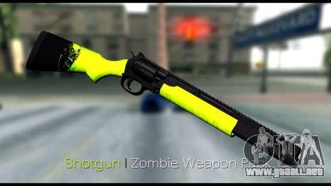 Zombie Weapon Pack para GTA San Andreas quinta pantalla