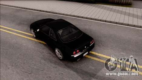 Nissan Skyline R33 para GTA San Andreas vista hacia atrás