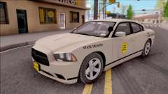 Dodge Charger Slicktop 2012 Iowa State Patrol para GTA San Andreas