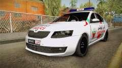 Skoda Octavia Moroccan Police para GTA San Andreas