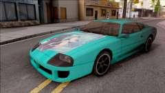 Miku Hatsune Jester Car para GTA San Andreas