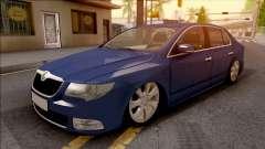 Skoda Superb 2009 para GTA San Andreas