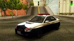 Subaru Impreza WRX STi 2004 Japanese Police para GTA San Andreas