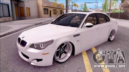 El BMW M5 E60 CHUPANDO para GTA San Andreas